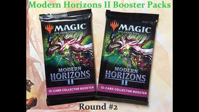 Crackin More MH2 COLLECTOR BOOSTER PACKS! **Etched Foils**
