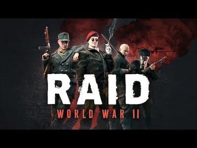 RAID World War II - Stealth - WTFVersion Part 1