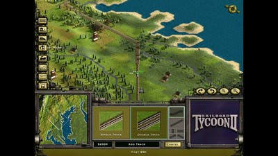Railroad Tycoon 2 Platinum - Classic campaign - 1 -The Iron Seed -  Hard mode - Walkthrough gameplay
