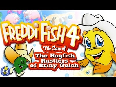 Freddi Fish 4 The Case of The Hogfish Rustlers of Briny Gulch Gameplay #1 The hogfish are missing!