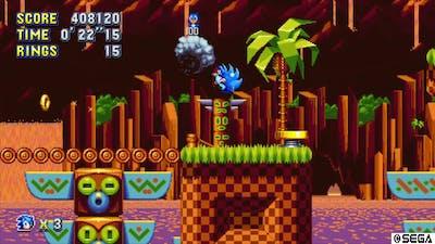 Sonic Mania Encore Green Hill Zone!