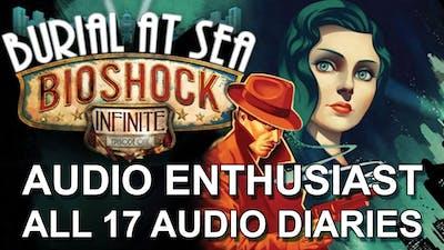 "Bioshock Infinite Burial at Sea Part 1 - ""Audio Enthusiast"" Achievement Guide - All 17 Audio Diaries"