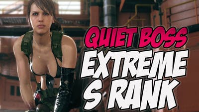 Metal Gear Solid V: The Phantom Pain Mission 50 [ S-RANK ] [EXTREME] [Play Quiet]