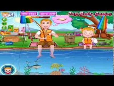 Baby Hazel goes to fishing Adventure game