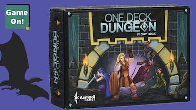One Deck Dungeon Playthrough: The Dragon Part 1