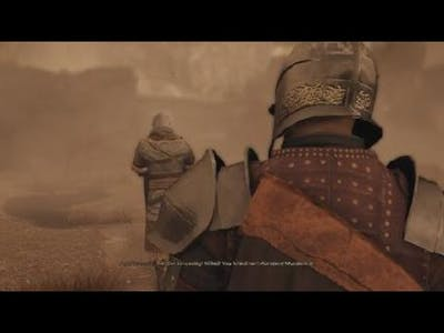 GreedFall easy boss fight  in gaming