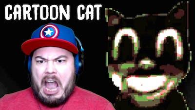 CARTOON CAT IS ALWAYS WATCHING…   Cartoon Cat