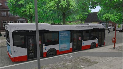 OMSI 2 Add-On Hamburg HafenCity - Volvo 7900 Hybrid - Line 6 1/2