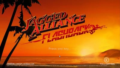 #2.4.NC Let's Play Jagged Alliance Flashback Alpha, Version 0.1.2, Sector 4 of 4 (no commentary)