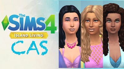 SIMS 4 ISLAND LIVING | Ride the Wave CAS