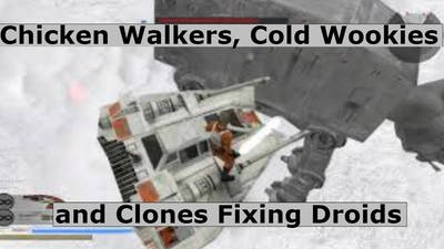 Star Wars Battlefront 2 (Classic 2005) - Chicken Walkers, Cold Wookies and Clones Fixing Droids