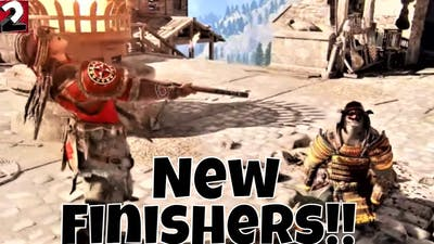 For Honor-All New Finishers!!! Year 5 Season 3 (Unique Finishers)
