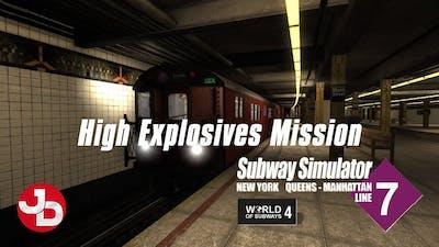 World of Subways 4 - New York Subway Line 7 | High Explosives Mission