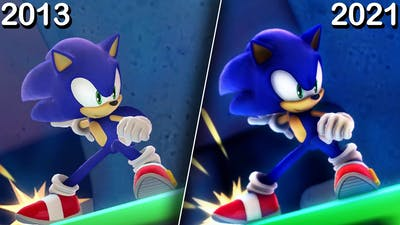 What If Sonic Lost World Got a Remaster
