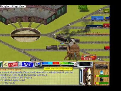 Traintown Crashes..TEW!!!!