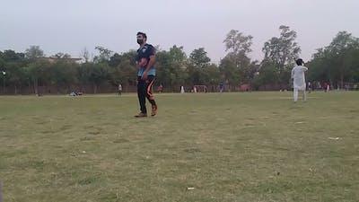 Nishter park cricket and football game- Multan Pakistan
