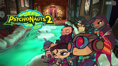First 10 Minutes Quick Gameplay of Psychonauts 2 | 4K Resolution | 60 FPS |