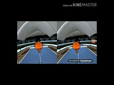 Vr ping pong(you can watch in vr if you have one)