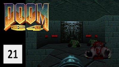 Cold Grounds - Let's Play Doom 64 #21 [DEUTSCH] [HD+]