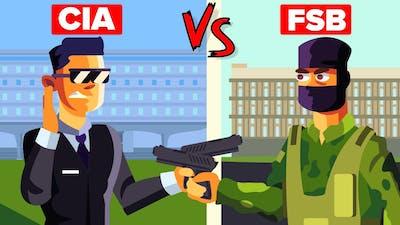 USA's CIA vs Russia's FSB - Who has the Most Elite Spy Agency?