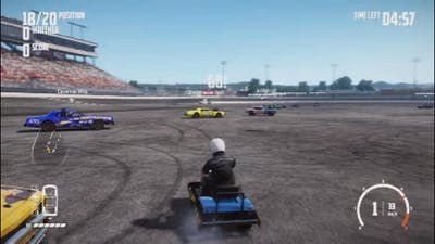 Wreckfest  - This game made me laugh alot