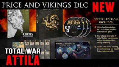 Price of Total War:Attila and Viking DLC