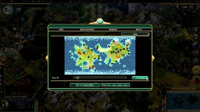 Sid Meier's Civilization V: When 2 super powers fight (Replay Map)