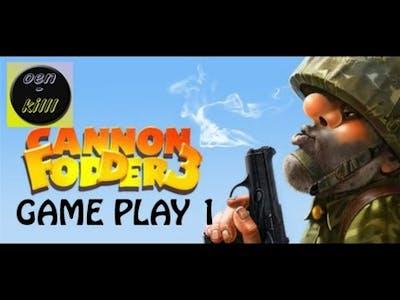 Cannon Fodder 3 Game Play Pierwszy