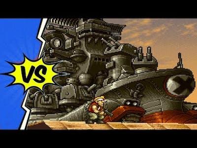 Metal Slug 2 Super Vehicle 001/II (PSP) - All Bosses