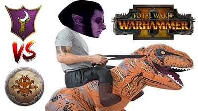 MALUS DREADKNIGHT TIME   Dark Elves vs Norsca - Total War: Warhammer 2