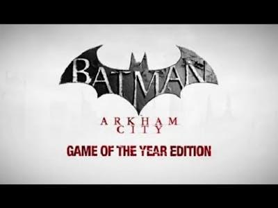 Batman arkham city game of the year edition on Intel HD 4400