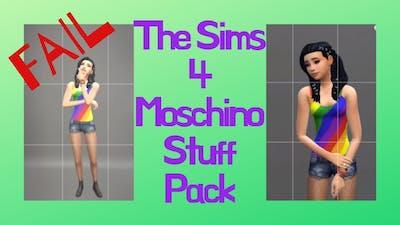 MY MOSCHINO FAILURE | THE SIMS 4 NEW STUFF PACK