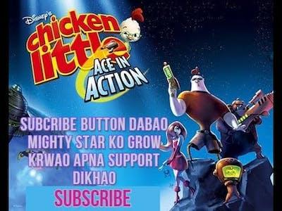 Disney's Chicken little ace in action Walkthrough Gameplay - Mission -1  - cold  shoulder