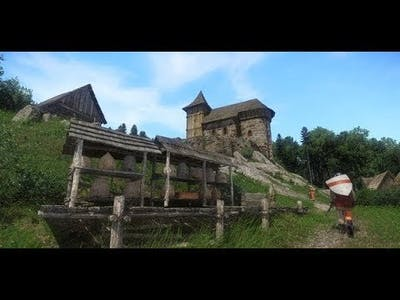 KINGDOM COME DELIVERANCE From The Ashes  - Introduction Gameplay Trailer - Medieval Open World Game