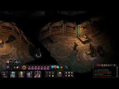 Pillars of Eternity II Stealthily Stealing Books from the Forgotten Sanctum Archives Part 2