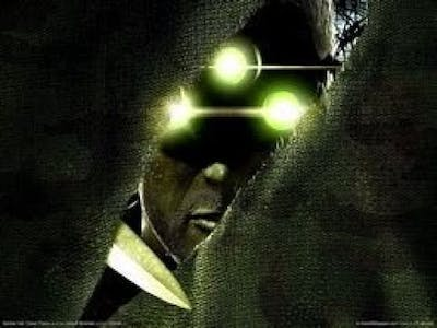 Tom clancys Splinter cell chaos Theory. One of the best games i played!