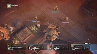 Helldivers - Defend Northman's Creek vs Bugs (Scythe)