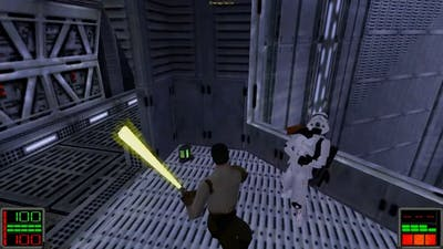 Star Wars Jedi Knight: Dark Forces II - (Level 18) Descent into the Valley