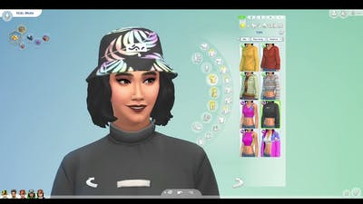 So I Bought Throwback Fit Kit for the Sims 4...