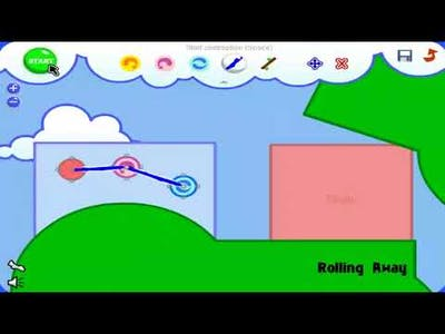 Fantastic Contraption (Flash Game) Gameplay