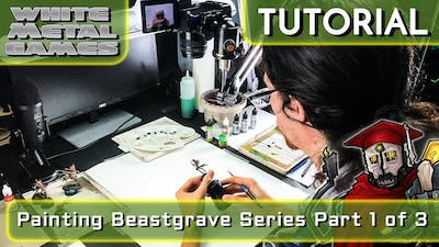 How To Paint Beastgrave Series - Part 1 of 3 - Skaeth's Wild Hunt Thatched Armor