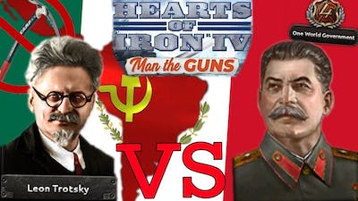 Man the Guns: Senor Trotsky Shows Stalin Who's the Best Communist - Hearts of Iron IV