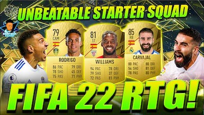 FIFA 22 THIS INSANE STARTER SQUAD | UNBEATEN IN DIVISION RIVALS! ULTIMATE TEAM RTG #FIFA22 #SBGAMING