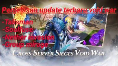 Big update Void War 16/09 Perfect World VNG