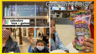 The FLORIDA MALL (Simon Mall) Part 2 | Tour at GO Calendars Toys and Games | Dining Pavilion GeeFam
