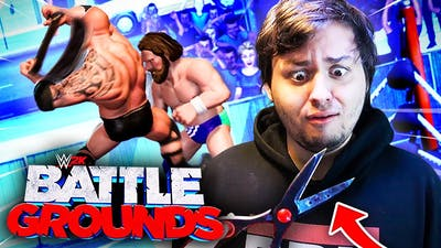 My Hair Is On The Line In WWE 2K Battlegrounds! (CHALLENGE)