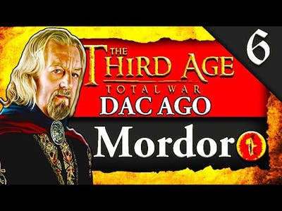 BATTLE OF EDORAS! Third Age Total War: [DAC AGO] Mordor Campaign Gameplay #6