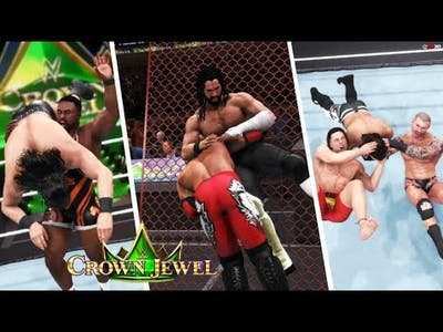 WWE 2K20: Crown Jewel 2021 Full Show - Prediction Highlights (Part 2)