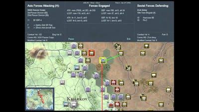 War In the east 1942 scenario soviet turn 1