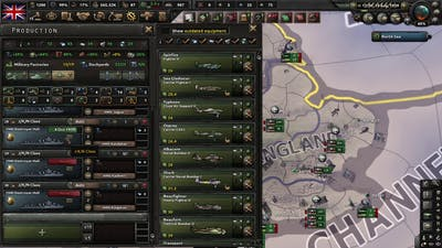 Hearts of Iron IV La Resistance Gameplay (PC Game)